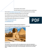 All You Should Know About Egypt