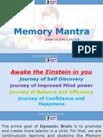 Memory Mantra
