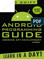 Android App Development & Programming Guide Learn in a Day!