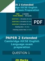 Ext IGCSE Cambridge Language