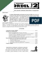 Carta Programa do CORDEL (Chapa 2)