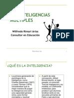 Inteligencias Múltiples Wilfredo Rimari 2009 ok