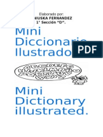 Mini Diccionario en Ingles