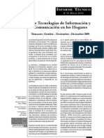 Las Tecnologías de Información y Comunicación en los Hogares - Perú