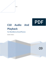 C10 Audio and Video Playback