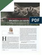 Muertos Vivientes. Octubre 15. Revista Plaza