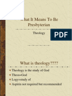 What It Means To Be Presbyterian Part 3