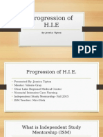 progression of h