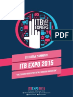 Executive Summary ITB EXPO 2015