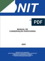 Manual de Conservacao Rodoviaria