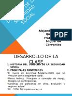 DERECHO de La Seguridad Social UMC. Programa Laboral