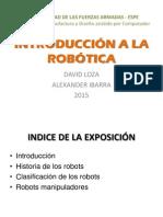 Robótica y manipuladores