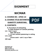 Assignment Nicmar 1 Course No -Gpqs 14 2