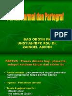 Partus Normal & Partograf (S)