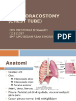 Chest Tube Toracotomy 1