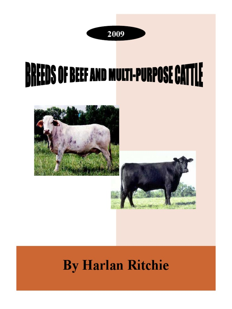 Breeds of Beef Cattle Ritchie Jan2009 pdf | Cattle | Animal Breeds