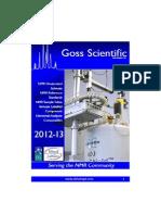 Catalogue Goss Scientific Instrument