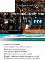 2b One-D, Steady-State Heat Conduction (ENSC 14a)