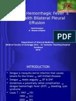 A Patient Dengue Hemorrhagic Fever With Bilateral Pleural Terbaru