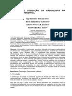 Artigo Evolução e Utilização Da Radioscopia Na Radiologia Industrial