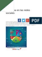 Problema en Las Redes Sociales