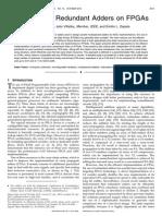 22.Multioperand Redundant Adders on FPGAs
