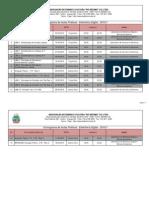 Cronogramas Aulas Praticas Eletronica Digital 2015-1