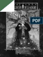 Mundo de Tinieblas - Vampiro - Maldicion de La Sangre 3 - Fleming_ Gherbod