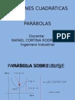Ecuación de Una Parábola