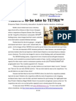 TETRIX at ESU News Release