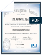 Certification 1865696