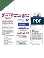 CoeBRAT 2010 Flyer