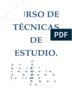 Curso de Técnicas de Estudio