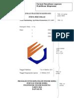 Format Laporan Bioproses