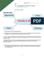 u1l12 possible threats alex g