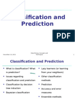 Data Mining Classification and Prediction by Dr. Tanvir Ahmed