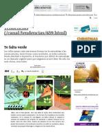 Te Falta Verde _ Tendencias _ LA TERCERA