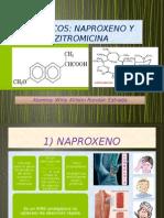 Naproxeno y Azitromicina
