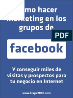 Marketing en  los Grupos de Facebook 2015