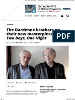 The Dardenne Brothers Interview