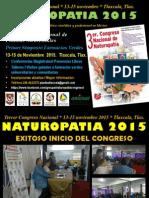Tercer Congreso Nacional Naturopatia 2015 Memoria