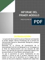 Informe Del Primer Módulo
