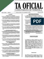 Gaceta Oficial Número 40.788 - Notilogía