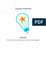Programa Feubb Crear 2015