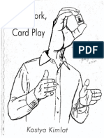 Kostya Kimlat - Card Work Card Play