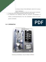 Aim, Apparatus, Method for Distillation Column