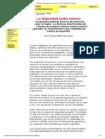 Artículo_ La Seguridad Como Ciencia - Por Enrique Medri Gonzales