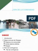 Preparacion de La Comunidad a Traves de Pahr - Tambos