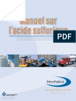 Brochure Technique NorFalco Sur l'Acide Sulfurique