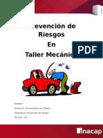 Trabajo Prevencion - Riesgos en Taller Mecanico
